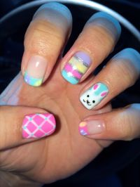 Gel Nail Designs For Easter  Nail Ftempo