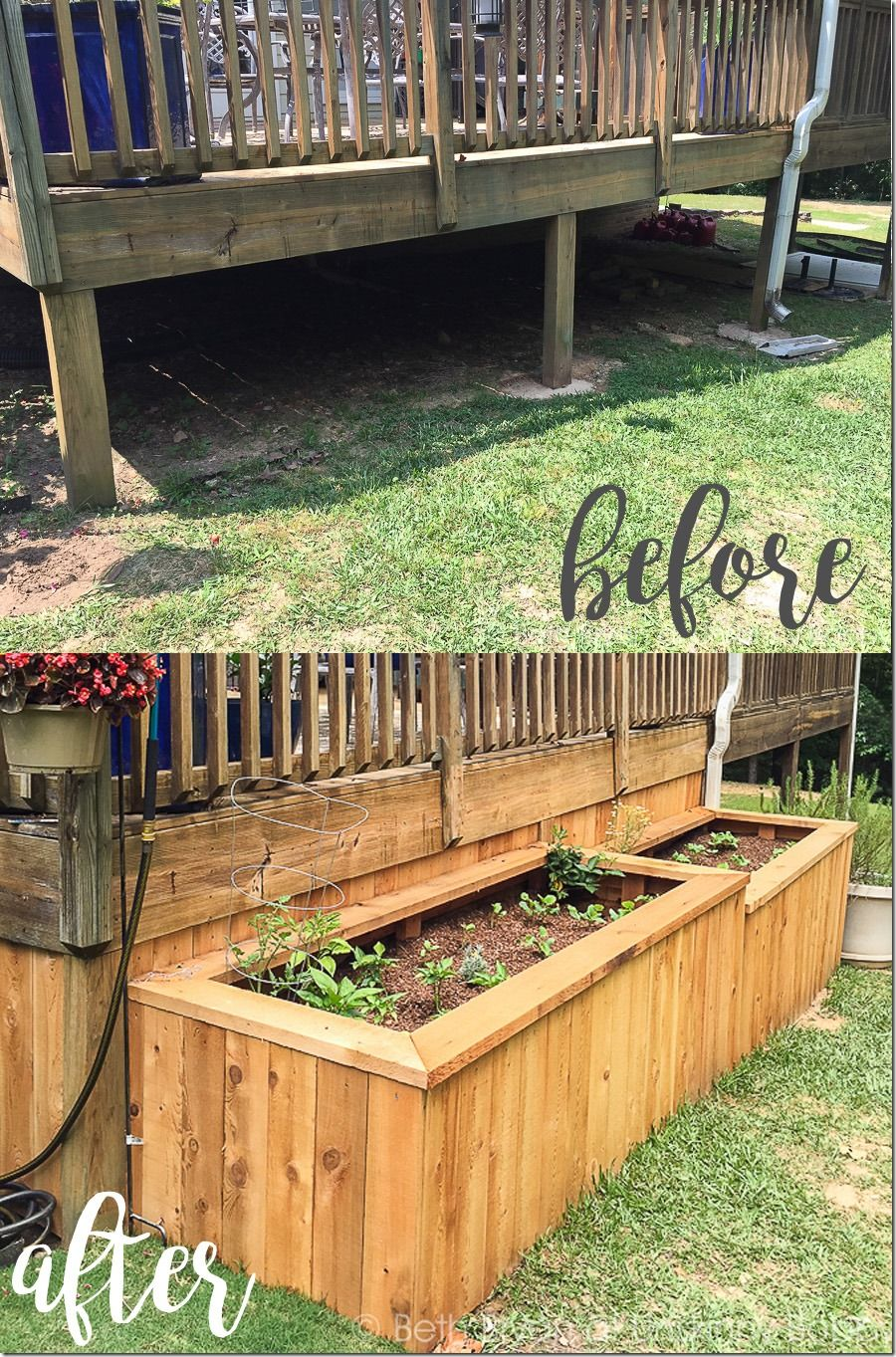 A Backyard Makeover With Raised Garden Beds Gardens Raised Beds