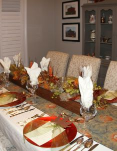 House also dining room fall themed tablescapes new decor ideas  pics rh pinterest
