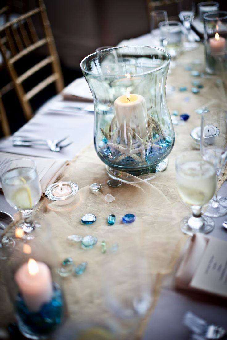 Ocean Themed Wedding Reception