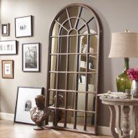 Decor arched mirror window frame | House | Pinterest ...