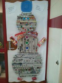 Classroom door decorating contest. My son's class won ...