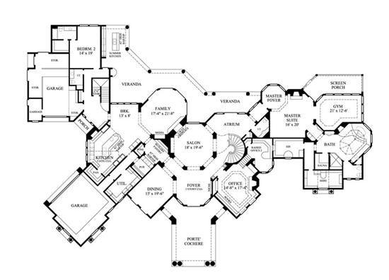 Modern Luxury Mansion Floor Plans Thumb Nail Thumb Nail Luxury