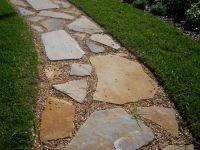 oklahoma stone and river rock walkway - Google Search ...