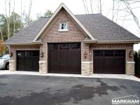 Dark Mahogany Garage Doors | HOME EXTERIORS | Pinterest ...