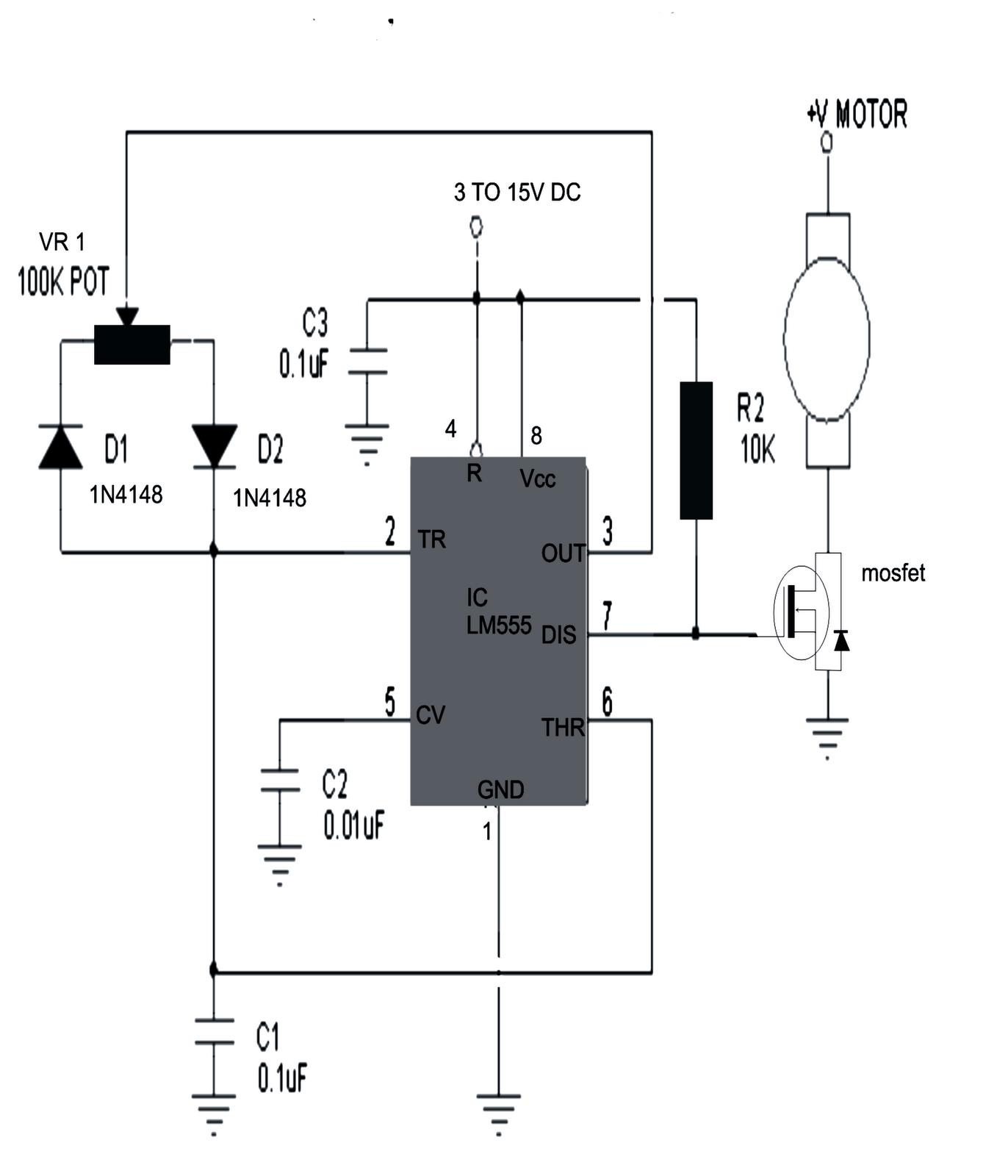 Pwm Motor Control Circuit