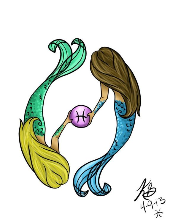 Pisces Zodiac Tattoo Design Real And . Gimme