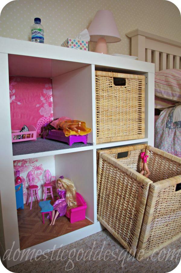DIY Barbie Doll Storage