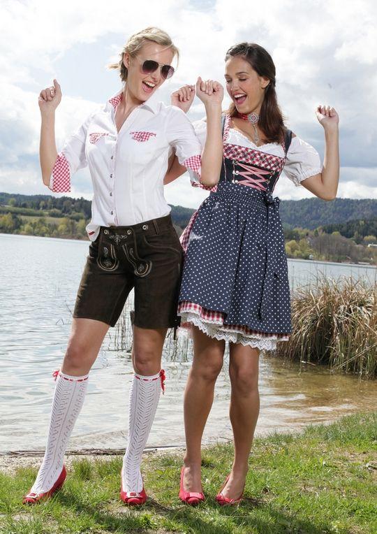 Lederhose Damen #Wiesn #Oktoberfest #Trachtenmode HeidisTrachten