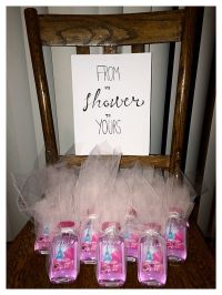 Bridal shower gift favors tulle paris themed bath body ...