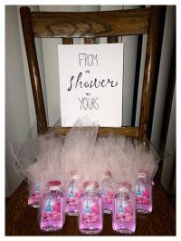 Bridal shower gift favors tulle paris themed bath body ...
