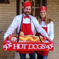 baby hotdog costume - Family Halloween costumes - family ...