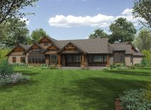 Mountain One Story Ranch Home