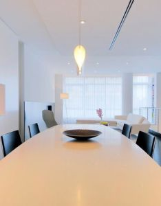 Modern dining room by west chin architects  interior designers also rh za pinterest