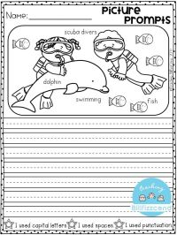 FREE Writing Prompt: Picture Prompts Writing for first ...