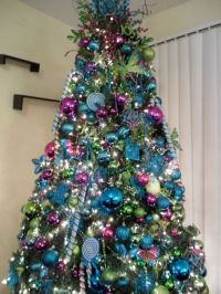 Christmas in Wonderland, Tiffany Blue, purple, and lime ...