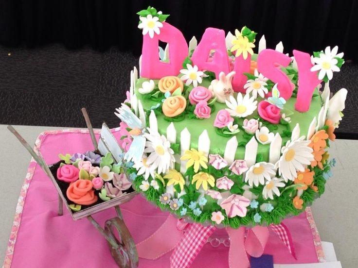 Flower Garden Cake Flower Garden Cake Ideas 67401 Flower