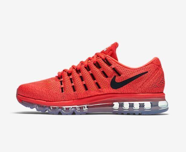air max nike hommes chaussure de course orange noir