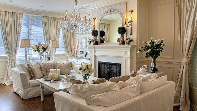 Decoration Salon Style Romantique Great Salon Pastel