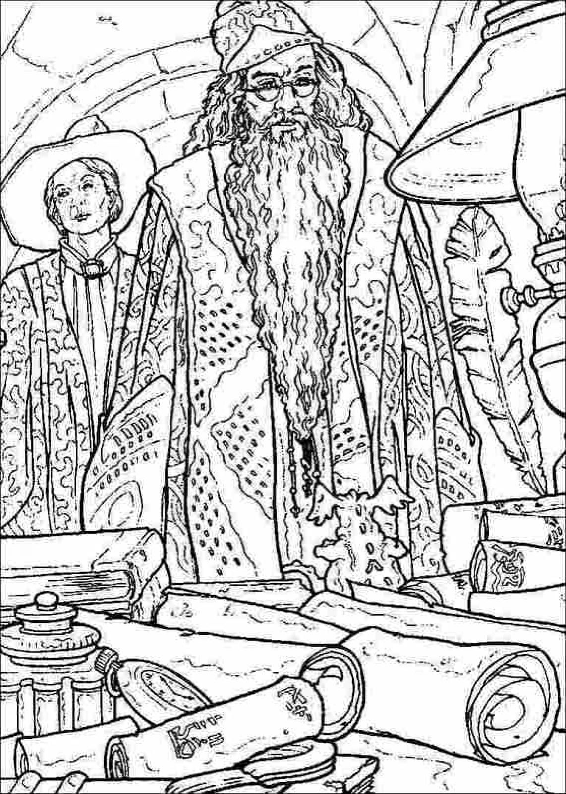 Harry Potter Printable Coloring Pages 49 Extra