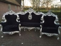 Antique Italian Baroque Chairs Fauteuils Wingback Bergere ...