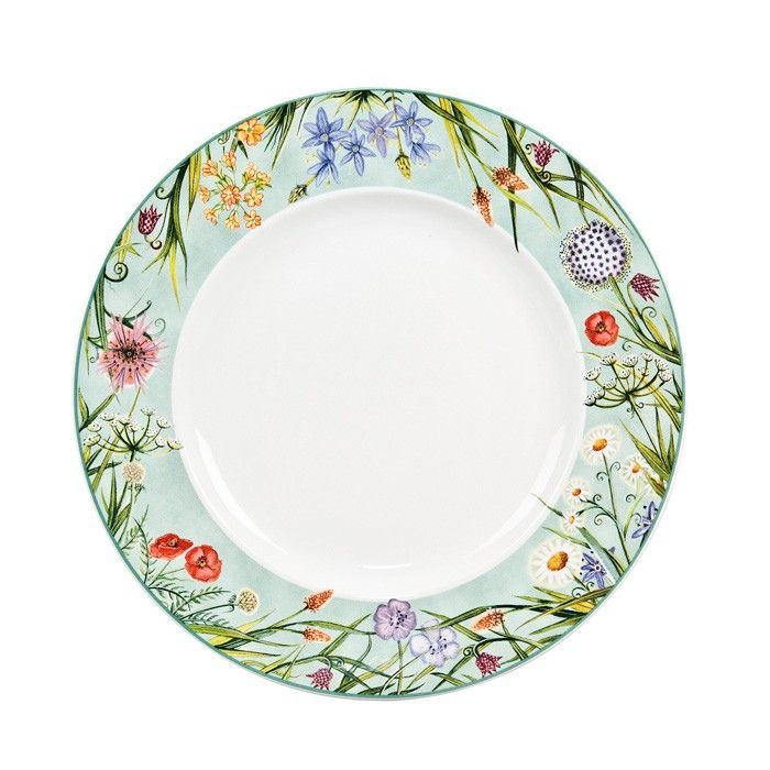 dinner plate decoration