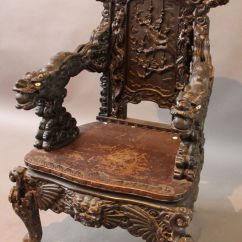 Antique Chinese Dragon Chair Value City Chairs Furniture