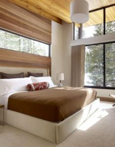 comfortable bed room designs also bedrooms high headboards and cladding rh pinterest