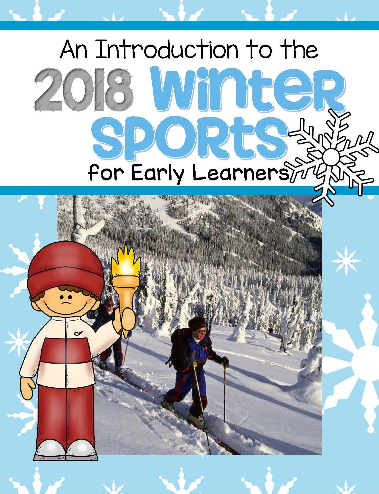 Winter Olympics Introduction For Early Learners