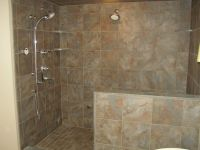 Comfortable Bathroom Shower Designs Without Doors With ...