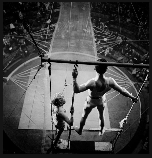 Circus Trapeze Artists France Ca.1935 Gaston Paris