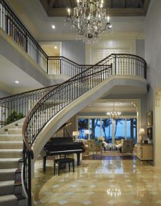 Gorgeous entry foyer and staircase interior design ideas home decor also lustre pinterest stairways staircases grand rh