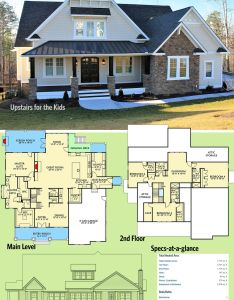 House architectural designs plan also vv upstairs for the kids design rh pinterest