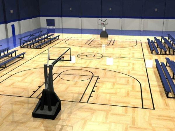 Building Indoor Basketball Court
