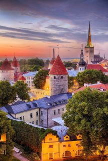Tallinn Estonia. Book & Visit Estonia