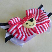 pirate hair bow princess