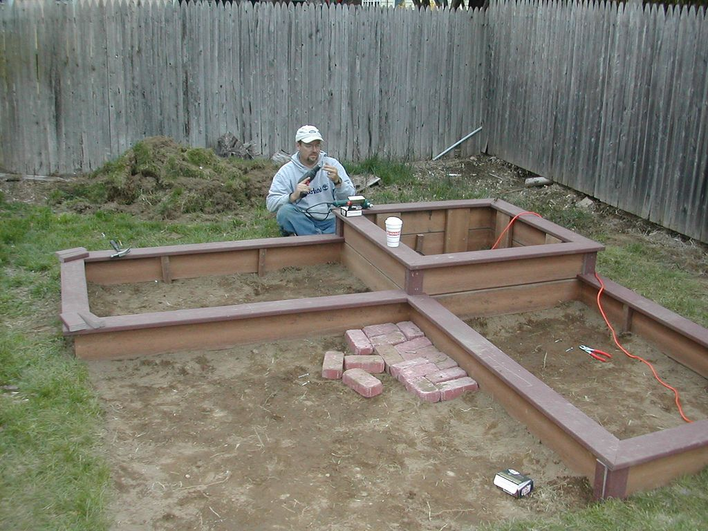 Square Foot Garden Ideas Deck Raised Bed Designs Square