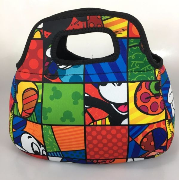 Britto Mickey Mouse Lunch Bag