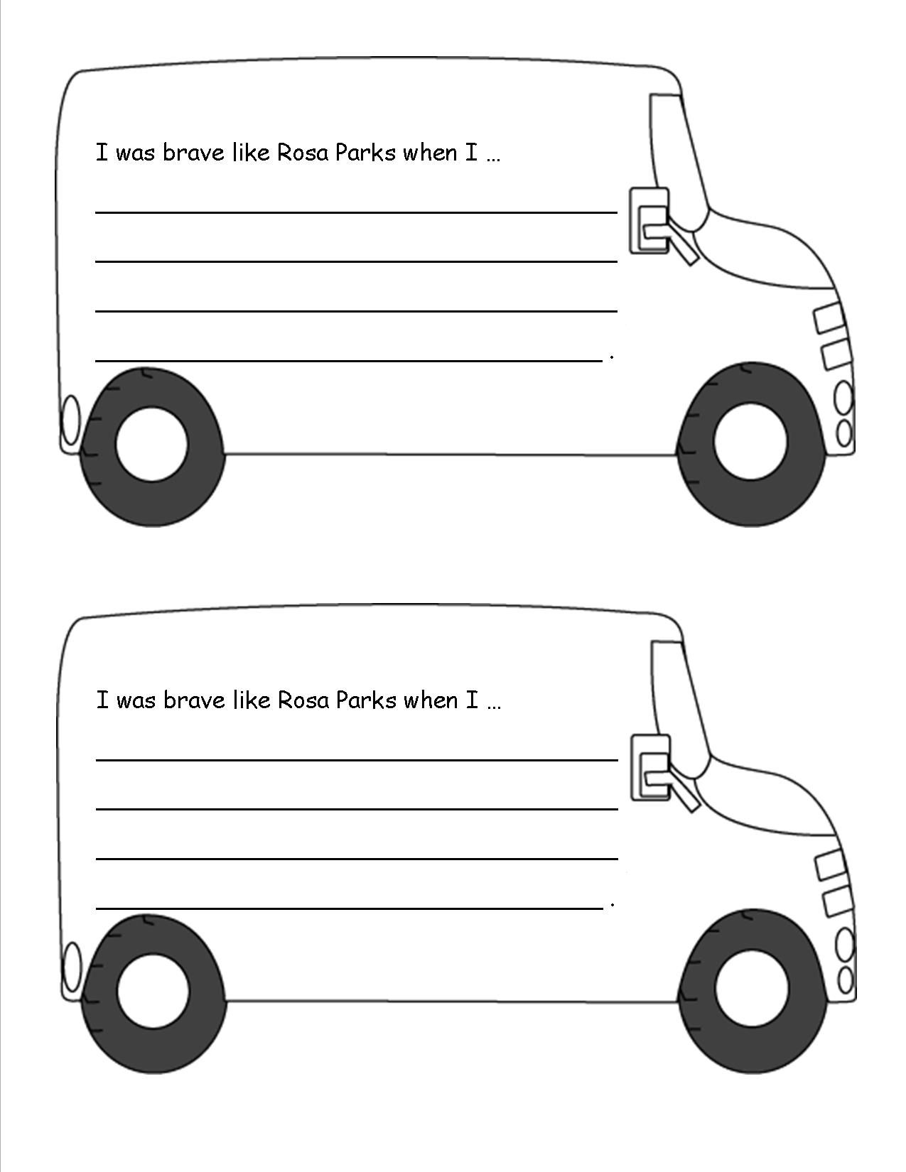 Rosa Parks Worksheet This Activity Is Great For Students Learning About Rosa Parks During Black