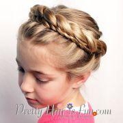 pretty hair fun princess crown
