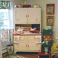 White Sellers Hoosier Cabinet at T-Party Antiques and Tea ...