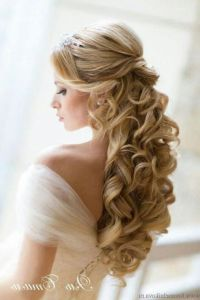 wedding hairstyles for long hair half up dfemale beauty ...