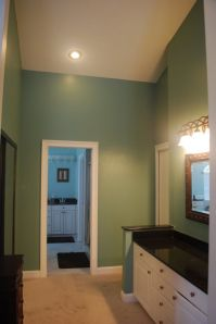 Bathroom Paint Colors Ideas : Warm Green Bathroom Painting ...
