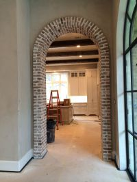 Thin Brick arch | Interior brick walls | Pinterest | Brick ...
