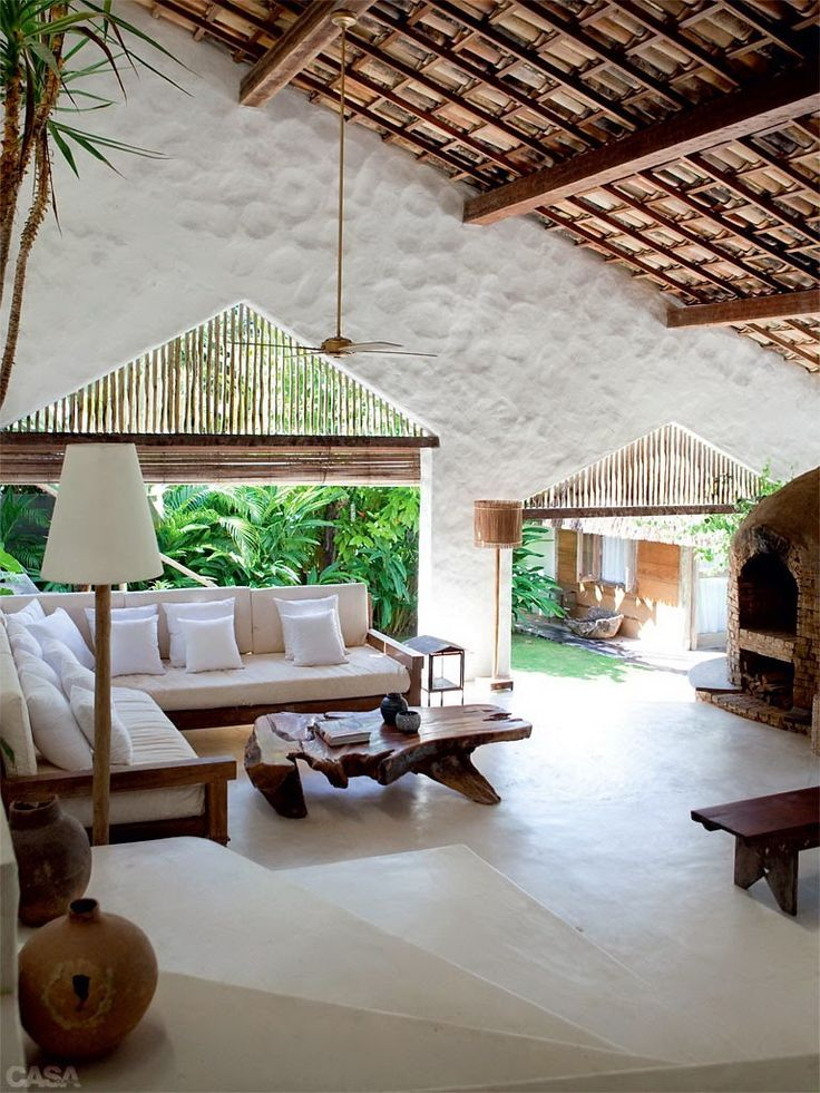 Tropical Home  Paradise Style  Living Space  Dream