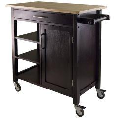 Kitchen Storage Cart Delta Faucets Home Depot With Drawers Desainrumahkeren