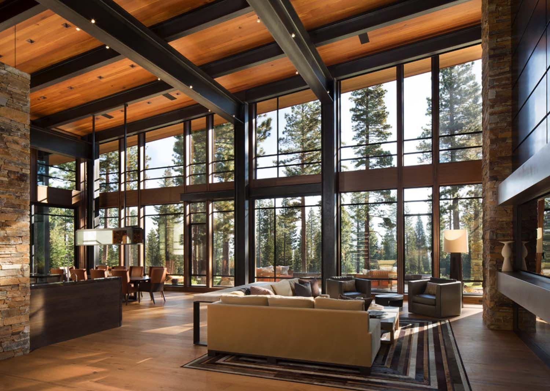 Fabulous Mountain Modern Retreat In The High Sierras Mountain