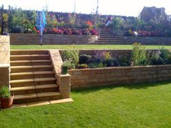 Small Tiered Garden Designs PDF Yard Ideas Pinterest