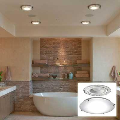 Bathroom Recessed Lighting Ideas