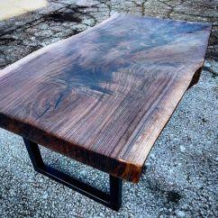 Steel Chair In Slab Argomax Mesh Ergonomic Office (em-ec001) Chunky Live Edge Walnut Coffee Table By